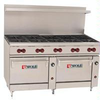 Wolf C60SS10B Range 60 Wide 10 Burners 30000 BTU With Two ovens 25000 BTU