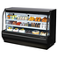 Turbo Air TCDD72HWBN Bakery or Deli Case Refrigerated Curved Glass 7212 Length x 5018 High