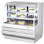 Turbo Air TCGB48WBN Display Case Curved Glass Bakery Refrigerated 4812 L x 5018 H