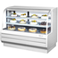 Turbo Air TCGB60WBN Display Case Curved Glass Bakery Refrigerated 6012 L x 5018 H
