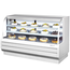 Turbo Air TCGB72WBN Display Case Curved Glass Bakery Refrigerated 7212 L x 5018 H