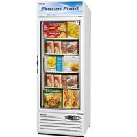 Turbo Air TGF23F Glass Door Freezer Merchandiser 1 Swing Door 27 Length 177 CuFt White