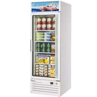 Turbo Air TGF23F Glass Door Merchandiser ReachIn Freezer 1 Swing Door 27 Wide 23 Cubic Feet