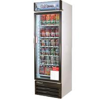 Turbo Air TGM14RV Glass Door Merchandiser ReachIn Refrigerator 1 Swing Door 2335 Wide 14 Cubic Feet