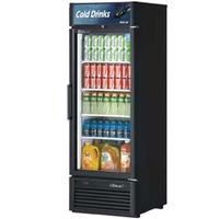 Turbo Air TGM23SDN6 Glass Door Merchandiser Reach in Refrigerator 1 Swing Door 27 Wide 23 Cubic Ft