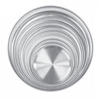 Thunder Group ALPTCS010 Pizza Tray 10 Couple Solid Aluminum Priced Each Sold in Quantities of 12