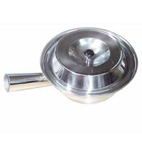 Thunder Group SLSTP714 Sauce Pan 714 Diameter With Lid Stainless Steel Priced Each Purchased in Cases of 6
