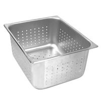 Thunder Group STPA7006PF Steam Table Pan Full Size Perforated 6 Deep 24 Gauge NSF Priced Each Sold In Case of 6
