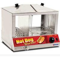 Omcan 40305 Hot Dog Steamer and Bun Warmer 100 Dogs and 36 48 Buns