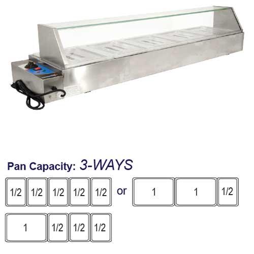 Omcan 43055 Food Warmers Bain Marie on