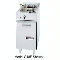 Garland US Range S18F Fryer Electric 35 Lb Fat Capacity Thermostatic Controls Stainless Front Back Sides Sentry Series