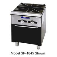 Garland USR SP18442 Stock Pot Range Gas 90000 BTU 2 Burners Manual Control Standing Pilot Regal Series