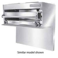 Garland USR UIR36C Salamander Broiler 36 Wide Gas Countertop 2 Infrared Burners with HiLo Valve Controls Each 40000 BTU