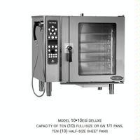 AltoShaam 1010ESISTD Pressureless Convection OvenSteamer Combi Oven BoilerFree Electric Half Size CombiTherm Series