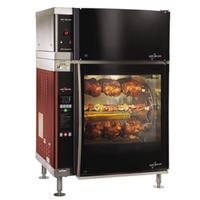 AltoShaam AR7EVHDBLPANE Rotisserie Oven With Ventless Hood Electric 7 Stainless Steel Skewers 2128 Chicken Capacity Double Pane Curved Glass Door Stainless Exterior