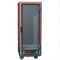 Metro C539CLFCU Holding and Proofing Cabinet Heated Insulated Lower Wattage Clear Full Height Door Universal Slides C5 3 Series