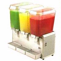 Grindmaster D354 Beverage Dispenser Triple Bowl Refrigerated 5 Gallon Plastic Crathco