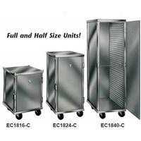WinHolt EC1832C Enclosed Pan Rack Cabinet Mobile Enclosed Intermediate Height Holds 32 18 x 26 Sheet Pans