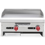 American Range ARMG24 Griddle Countertop Gas 24 Wide 30000 BTU Every 12 34 Thick Plate Manual Controls