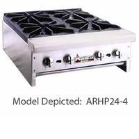 American Range ARHP122 Hotplate Countertop Gas 2 Burners 32000 BTU Each Manual Control 12 Wide