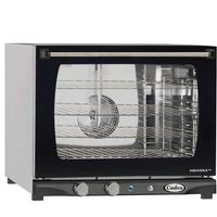 Cadco XAF133 Convection Oven Countertop Half Size Electric Humidity Fits 4 Half Size Pans