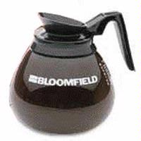 Bloomfield REG8903BL3 Coffee Decanter Glass with Black Handle Priced Each Sold in Packs of 3