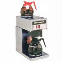 Bloomfield 8543D2 Coffee Brewer 1 Lower and 1 Upper Warmer Pour Over Koffee King Series Decanters Sold Separately