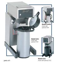 Bloomfield 8785A Airpot Coffee Brewer Pourover Stainless Decor Airpot Sold Separately