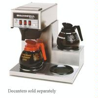 Bloomfield 8571D3 Coffee Brewer 3 Lower Warmers Pour Over Koffee King Series Decanters Sold Separately