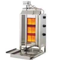 MVP Group AXVB3 Vertical Broiler Countertop Gas 3 Infrared Burners 90 Lb Capacity 34140 BTU