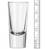 Libbey 1787386 Shot Glass Troyana Shooter 538 Oz 238 Top Diameter 178 Bottom Diameter 538 Tall Clear Case of 2 Dozen