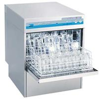 Meiko FV402G Dishwasher Undercounter Glasswasher 37 Racks per Hour High Temp with Built in Booster